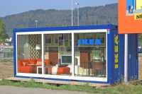 showroom container ikea ch 8957 spreitenbach containex. Black Bedroom Furniture Sets. Home Design Ideas